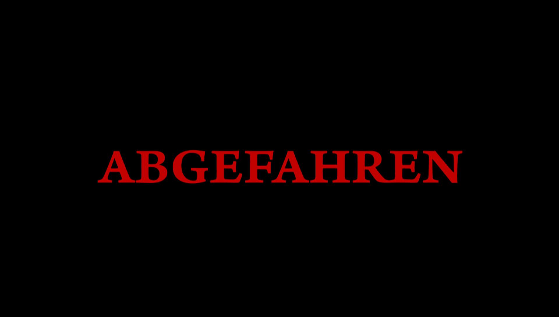 """Kurzfilm \""""Abgefahren\"""""""