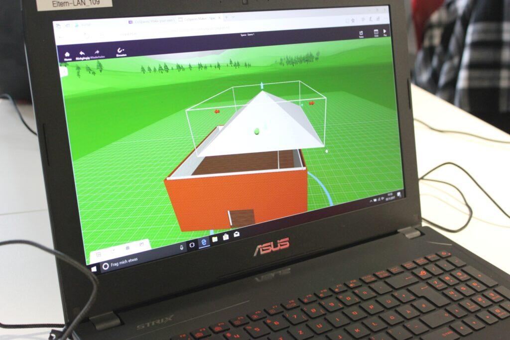 Workshop - 3D-Welten bauen mit CoSpaces